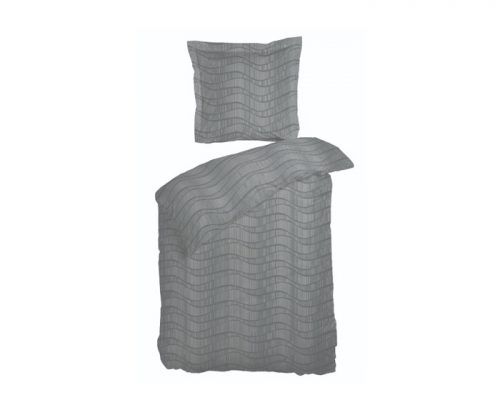 Flow grå sengetøj fra Night & Day