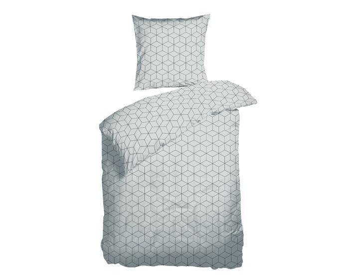 Box grå sengetøj
